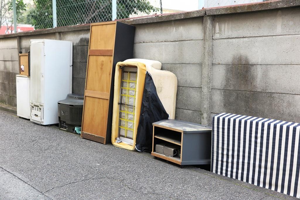 二人掛けソファを粗大ゴミに出したい!